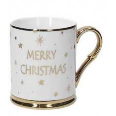 Κούπα Πορσελάνης Χριστουγεννιάτικη Merry Christmas 400ml Tognana