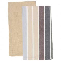 Πετσέτες Κουζίνας βαμβακερές Σετ 2τμχ.Ginko  45x70cm Andrea Fontebasso