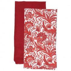 Πετσέτες Κουζίνας βαμβακερές Σετ 2τμχ. Ornament 45x70cm Andrea Fontebasso