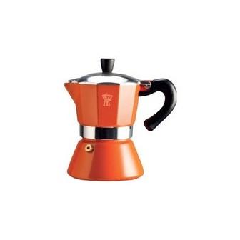καφετιέρα για espresso pezzeti 3 φλυτζάνια πορτοκαλί