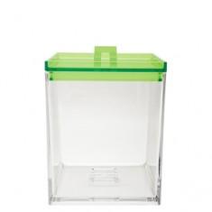 Δοχείο μελαμίνης zak στοιβαζόμενο πράσινο 1.4lit
