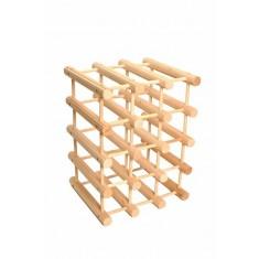 κάβα ξύλινη για 16 μπουκάλια