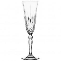 Ποτήρι Σαμπάνιας Κρυστάλλινο Rcr 160ml Σετ 6 Τμχ Melodia