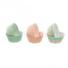 θήκες για cup cake μωρό 7cm kitchencraft.
