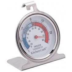 θερμόμετρο ψυγείου inox kitchencraft