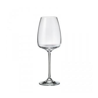 Ποτήρι  Λευκού Κρασιού Κρυστάλλινο Bohemia Alizee 440ml Σετ 6 Τεμ.