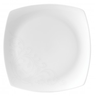 Πιάτο Ρηχό Τετράγωνο Σετ 6Τμχ Romance 26cm Ionia