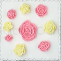 Φόρμα Σιλικόνης Για Διακόσμηση Ζαχαρόπαστας Roses Sweetly Does It