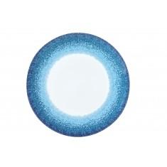 Πιατέλα Στρογγυλή Apeiron Blue 30cm Ionia