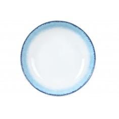 Πιάτο Βαθύ Σετ 6Τμχ Apeiron Blue 21.5cm Ionia