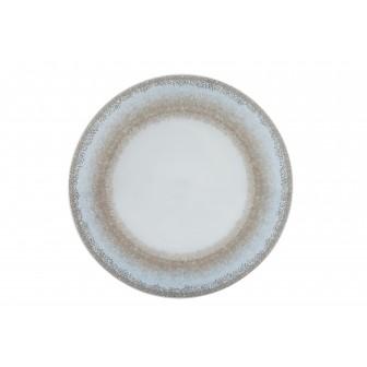 Πιάτο Ρηχό Σετ 6Τμχ Apeiron Beige 27cm Ionia