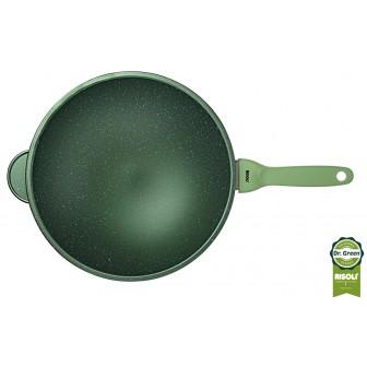 Wok Dr. Green Χυτού Αλουμινίου 30cm Risoli