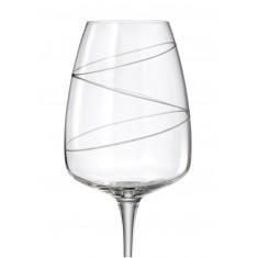 Ποτήρι Κόκκινου Κρασιού Σετ 6 Τμχ Κρυστάλλινο Bohemia Alizee 610ml