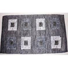 Χαλάκι Λυδία Εσωτερικού Χώρου Μαύρο 60X115