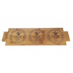 Πλατό Σερβιρίσματος Ακακίας Cheese 47cm