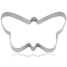 Κουπ-Πατ Μεταλλικό Πεταλούδα 6,5cm Fisko