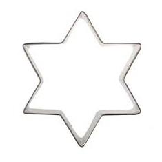 Κουπ-Πατ Μεταλλικό Αστέρι 4cm Fisko