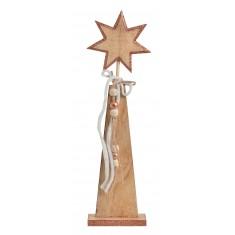 ξύλινο Διακοσμητικό  Αστεράκι