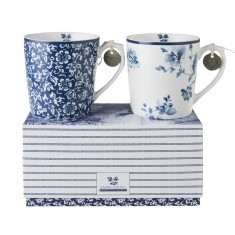 Κούπα Laura Ashley Σετ 2τμχ. Fine Bone China 320ml